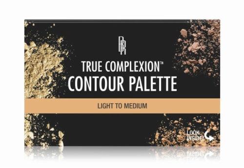 Black Radiance True Complexion Contour Palette Light to Medium Perspective: front