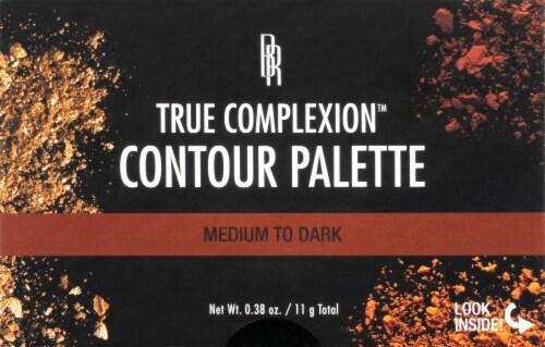 Black Radiance True Complexion Medium to Dark Contour Palette Perspective: front