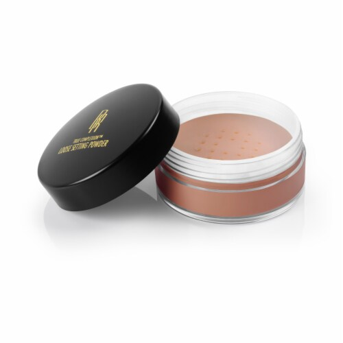 Black Radiance True Complexion Cocoa Kisses Loose Setting Powder Perspective: front
