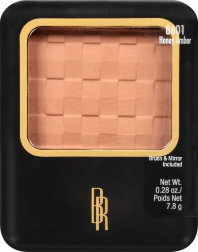 Black Radiance Honey Amber Pressed Powder Perspective: front