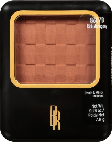 Black Radiance Rich Mahogany Pressed Powder Perspective: front