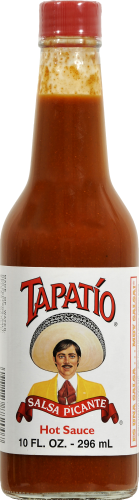 Tapatio Hot Sauce Perspective: front