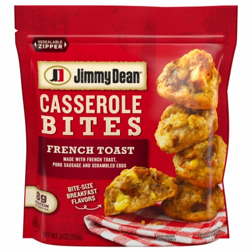 Jimmy Dean French Toast Sausage & Egg Casserole Bites Perspective: front