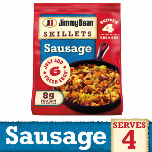 Jimmy Dean Sausage Skillets Perspective: front