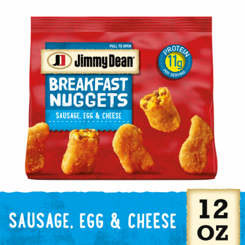 Jimmy Dean Sausage Egg & Cheese Breakfast Nuggets Perspective: front