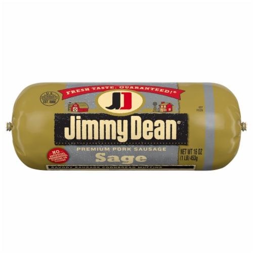 Jimmy Dean Sage Premium Pork Sausage Roll Perspective: front