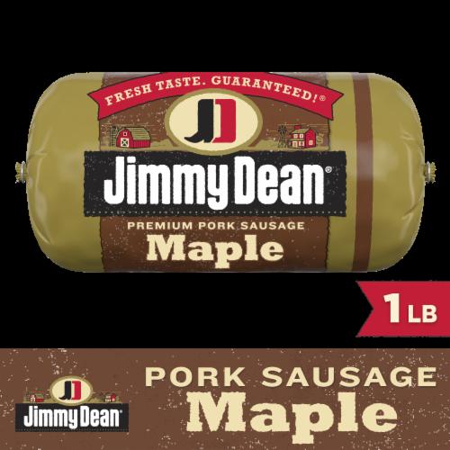 Jimmy Dean Premium Pork Maple Sausage Roll Perspective: front