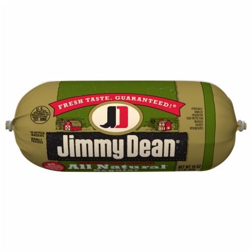 Jimmy Dean® All Natural Premium Pork Sausage Roll Perspective: front