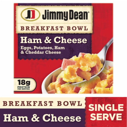 Jimmy Dean Ham & Cheese Breakfast Bowl Perspective: front