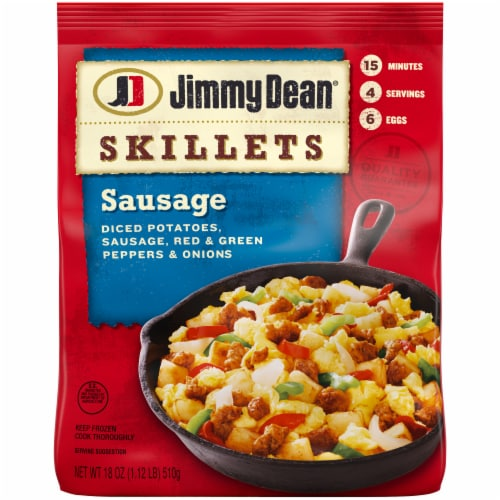 Jimmy Dean Sausage Breakfast Skillet Perspective: front