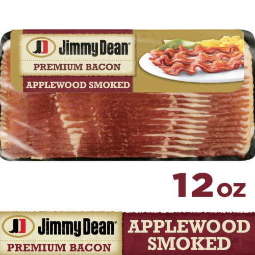 Jimmy Dean Premium Applewood Smoked Bacon Perspective: front