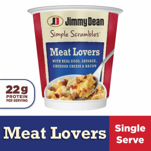 Jimmy Dean Meat Lovers Simple Scrambles Perspective: front