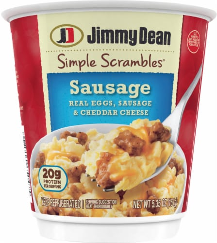 Jimmy Dean Simple Scrambles Sausage Breakfast Cup Perspective: front