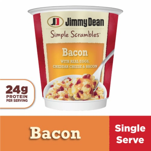 Jimmy Dean Simple Scrambles Bacon Breakfast Cup Perspective: front