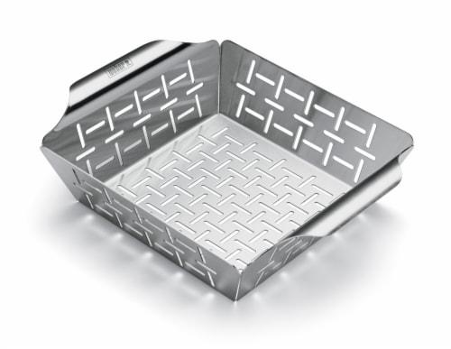 Weber Deluxe Grilling Basket Perspective: front