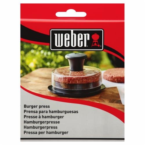 Weber Burger Press Perspective: front