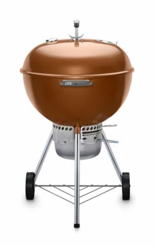"Weber® Original Kettle™ Premium 22"" Charcoal Grill - Copper Perspective: front"