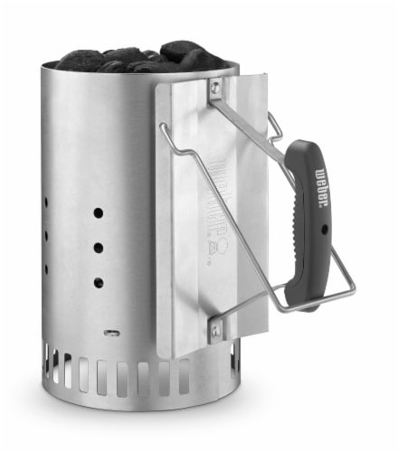 Weber Rapidfire Chimney Charcoal Starter Perspective: front