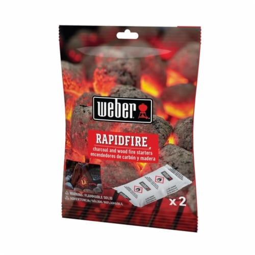 Weber Grill Fire Starter 2 pk - Case Of: 24; Perspective: front
