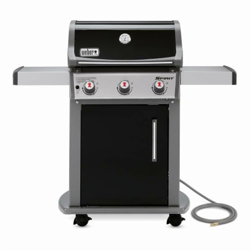 Weber-Stephen Products 258699 S315 Stainless Steel Natural Gas Grill Perspective: front