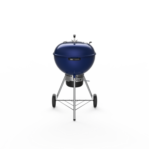 """Weber® Master-Touch® 22"""" Charcoal Grill - Deep Ocean Blue Perspective: front"""
