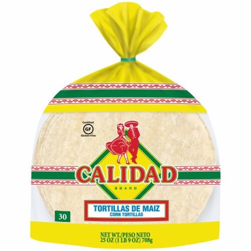 Calidad Corn Tortillas Perspective: front
