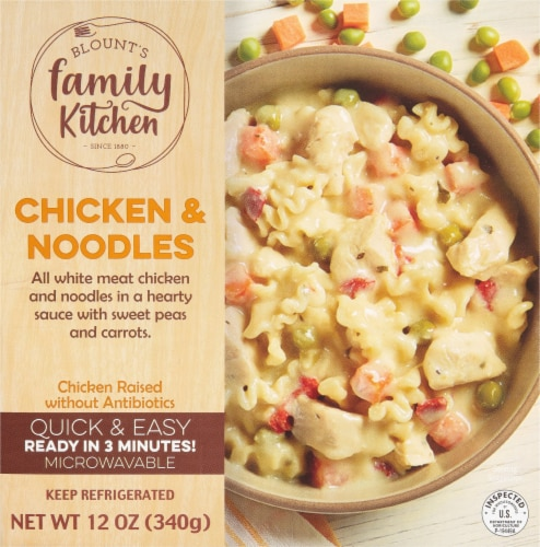 Blount's Family Kitchen Chicken & Noodles Bowl Perspective: front