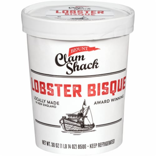 Blount Clam Shack Lobster Bisque Perspective: front