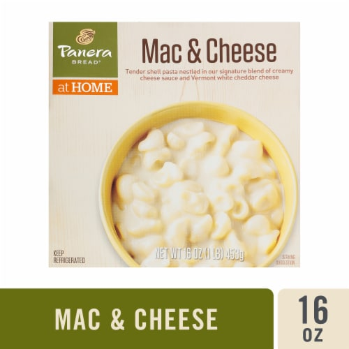 Panera Bread at Home Mac & Cheese Microwave Bowl Perspective: front