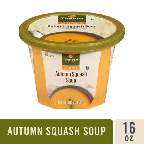 Panera Bread at Home Autumn Squash Soup Perspective: front