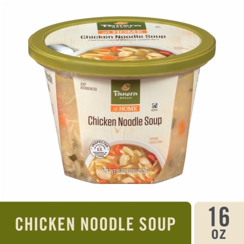 Panera Bread at Home Chicken Noodle Soup Perspective: front