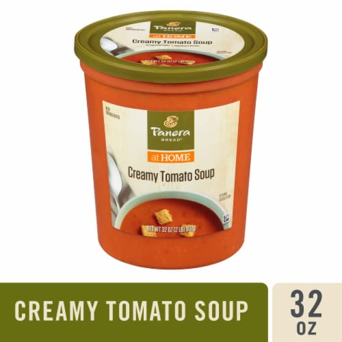 Panera Bread at Home Creamy Tomato Soup Perspective: front