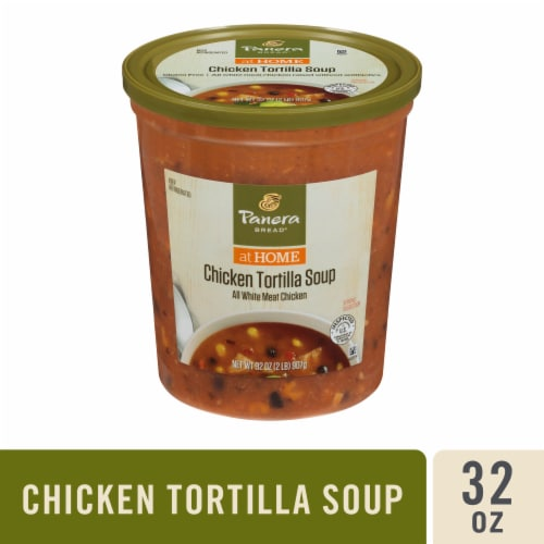 Panera Bread at Home Chicken Tortilla Soup Perspective: front