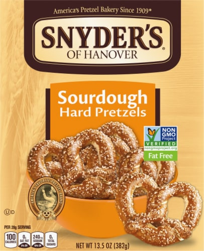 Snyder's of Hanover Sourdough Hard Pretzels Perspective: front