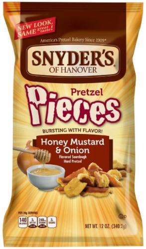 Snyder's of Hanover Honey Mustard & Onion Pretzel Pieces Perspective: front