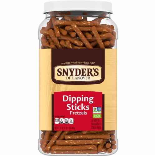 Snyder's of Hanover Dipping Sticks Pretzels Perspective: front