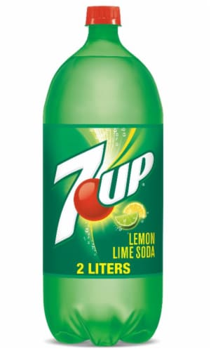7UP Lemon Lime Soda Perspective: front