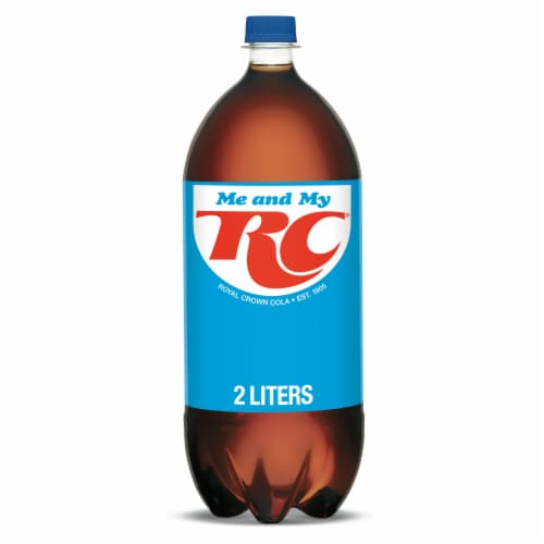 RC Cola Soda Perspective: front