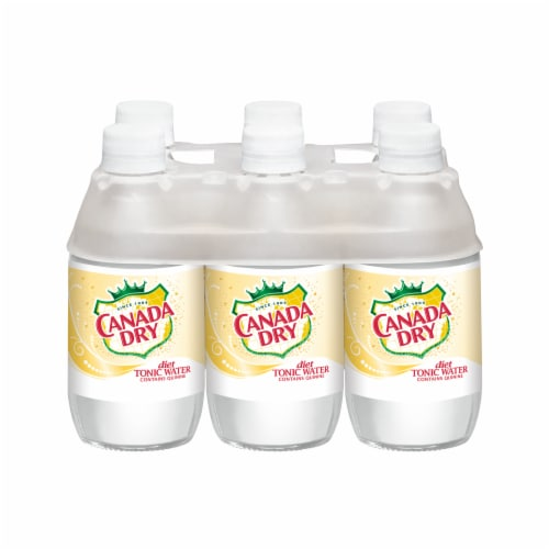 Canada Dry Diet Tonic Water Perspective: front
