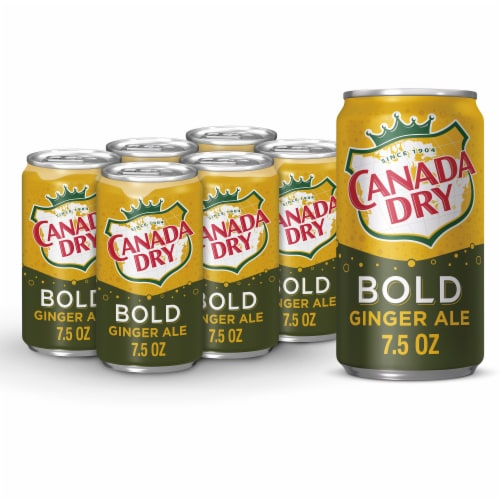 Canada Dry Bold Ginger Ale Perspective: front