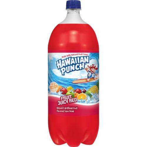 Hawaiian Punch Fruit Juicy Red Juice Drink Perspective: front