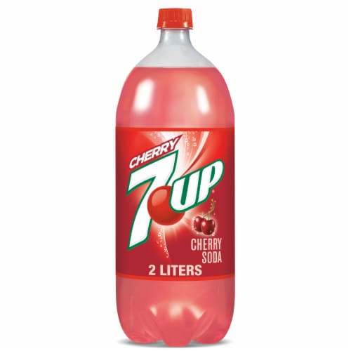 7UP Cherry Soda Perspective: front