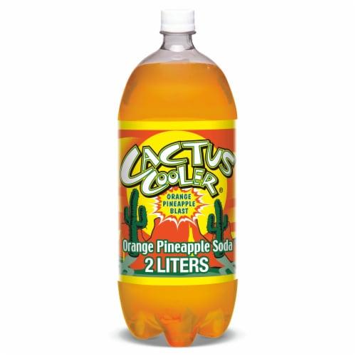 Cactus Cooler Orange Pineapple Soda Perspective: front