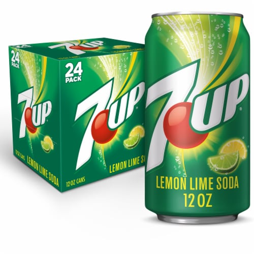 7UP 24 Pack Perspective: front