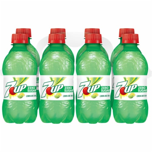 7UP Zero Sugar Lemon-Lime Soda Perspective: front