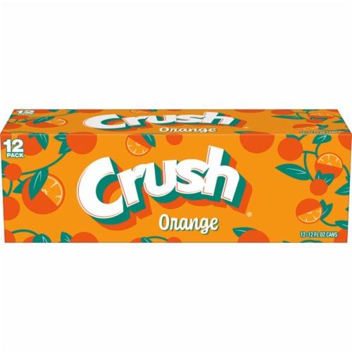 Crush Orange Soda Perspective: front
