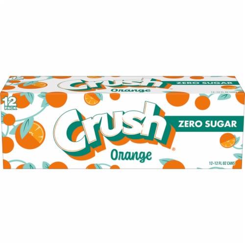 Crush Diet Orange Soda Perspective: front
