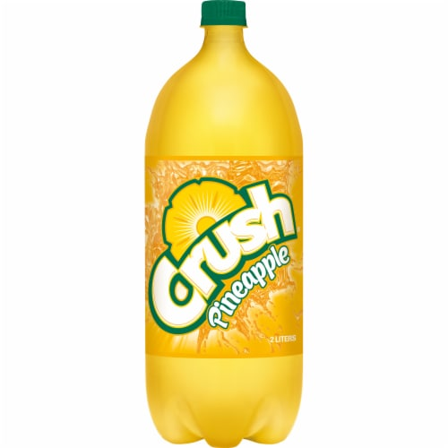 Crush Pineapple Soda Perspective: front