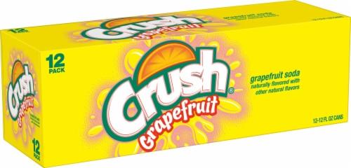 Crush Grapefruit Soda Perspective: front