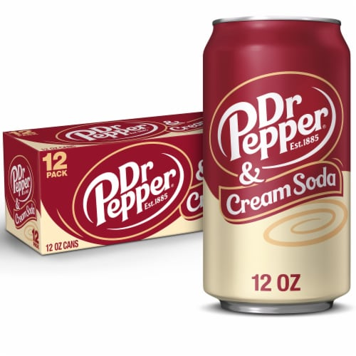 Dr Pepper & Cream Soda Perspective: front